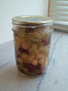 pickled 3-bean salad