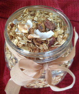 Granola as a gift resized