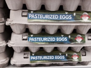 pasteurized egg carton