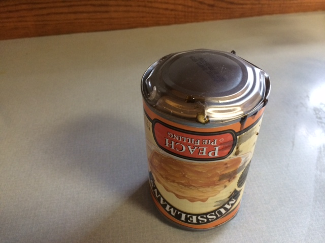 Swollen Canned Food