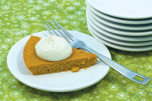 guiltless pumpkin pie
