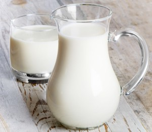 pitcher and glass milk drinks dairy