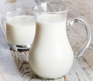 pitcher and glass milk drinks dairy