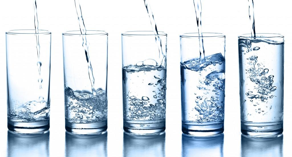 water glasses drinks