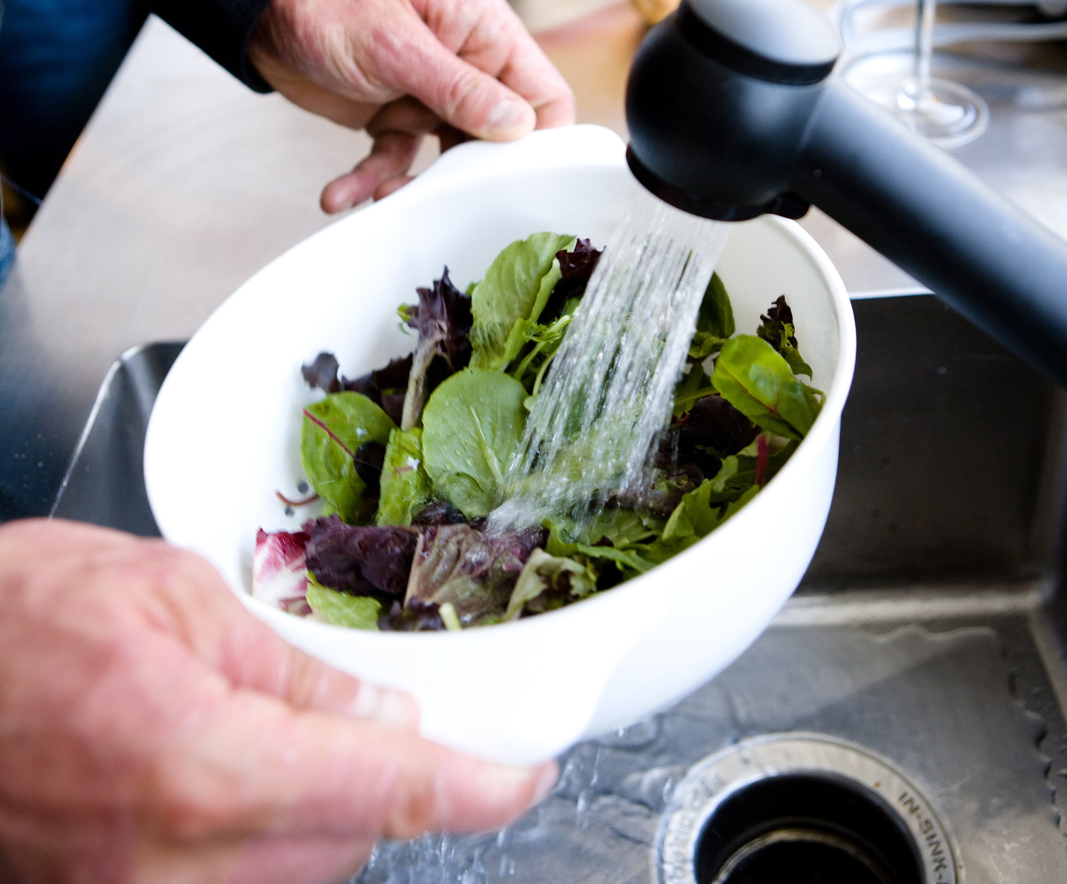 Food preparation words on wellness - Foods never wash cooking ...