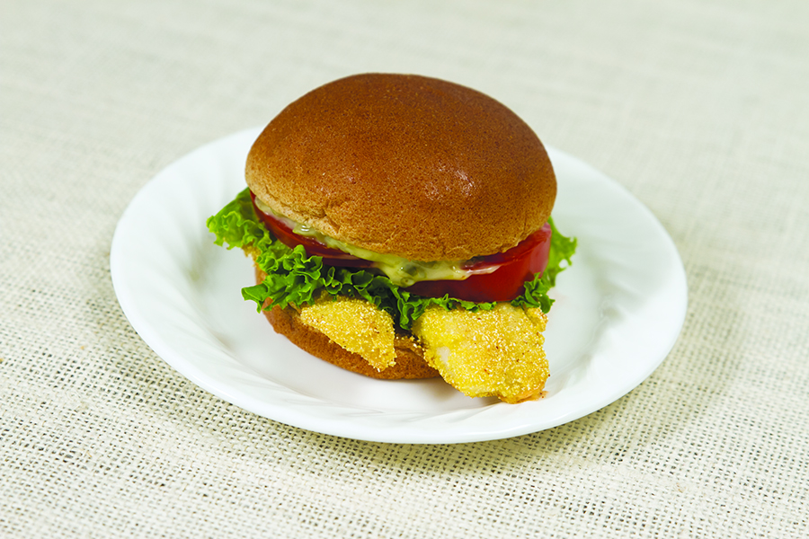Fish sandwich words on wellness iowa state university for Fish sandwich calories