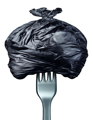 trash on fork