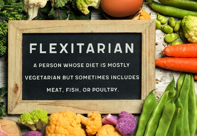 Flexitarian - fruits and vegetables