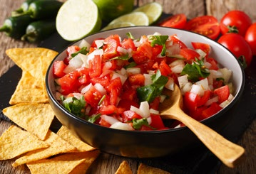 Salsa in bowl