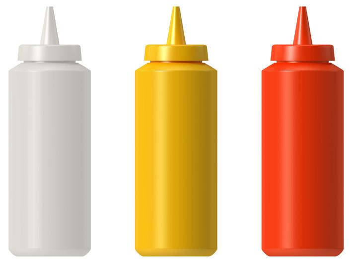Catsup, Mustard, Mayo