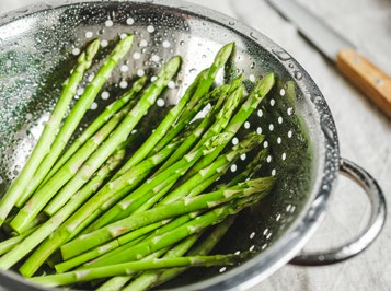Strainer of asparagus